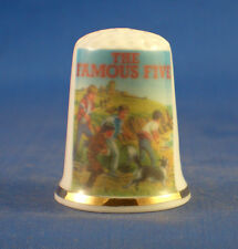 Birchcroft China Thimble -- Enid Blyton The Famous Five -  Free  Gift Box