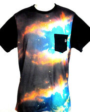 MENS VOLCOM GALAXY NEBULA POCKET T-SHIRT SIZE XL
