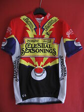 Maillot cycliste Celestial Seasonings Red Zinger Bicycle Vintage jersey - 4 / L