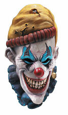 INSANO Psycho Crazy Scary Killer Clown Latex Over Head Mask