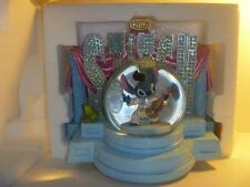 ❄ RARE Disney Lilo Stitch as Elvis Stage Plays Aloha Oe w/ Art Pack Snowglobe ❄