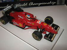 1:18 FERRARI f310 M. Schumacher 1996 rebuilt FULL TOBACCO in Showcase