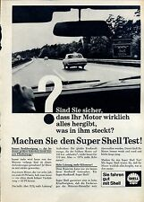 Shell Machen sie den Super Shell Test--Werbung von 1965