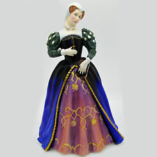 """MARY QUEEN OF SCOTS Royal Doulton Figurine England NEW NEVER SOLD 9"""" tall"""