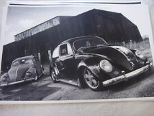 1960 'S? VOLKSWAGEN VW BUGS MODIFIED R.H. DRIVE  12 X 18 LARGE PICTURE   PHOTO
