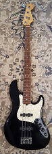 Fender 1995 USA Jazz Bass Deluxe (Black) First Year Of Production!