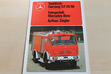 151369) Mercedes 1719 2626 AK/38 Feuerwehr TLF 24/50 - Ziegler - Prospekt 04/198
