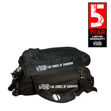 Vise Black 3 Ball Tote Bowling Bag With Shoe Pouch