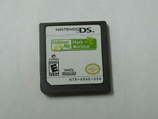 Challenge Me Math Workout  (Nintendo DS, 2009)