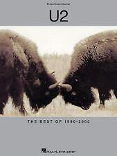 U2 - the Best Of 1990-2000 Sheet Music Songbook Song Book