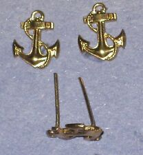 Gilt (Gold) color anchor used on a number of different countries medals -total 5
