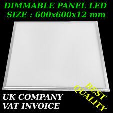 45 W LED PANEL DIMMABLE NATURAL WHITE 624 pcs smd 3014 (size 600 x 600 x 12 mm)