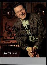 Josef Meinrad Autogrammkarte Original Signiert ## BC 15844