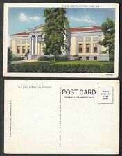 Old Massachusetts Postcard - Holyoke - Public Library