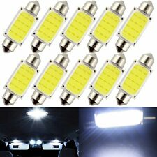 50x 24V 36mm Festoon C5W LED Led COB Light Map Dome Roof Reading License Bulbs