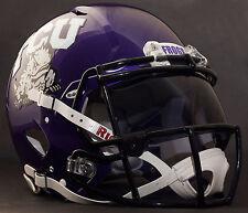 TCU HORNED FROGS NCAA Gameday REPLICA Football Helmet w/ OAKLEY Eye Shield