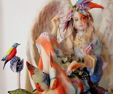 Sheila Wolk Fantasy Named SANCTUARY Garden Fairy Figurine Statue MINT see PHOTOS