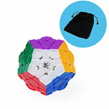 Dayan Magic Cube Puzzle Megaminx I With Corner Ridges Stickerless With Cube Bag
