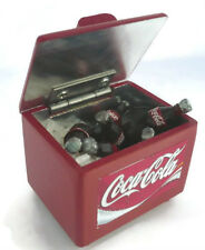 COCA COLA COOLER ICE CHEST Dollhouse Miniatures Drink Soda