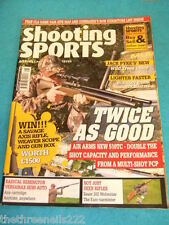 SHOOTING SPORTS - SAUER 202 WOLVERINE - AUG 2011