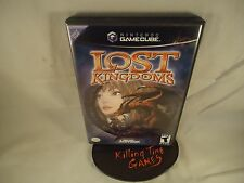 Lost Kingdoms (Nintendo GameCube, 2002) COMPLETE, TESTED, RARE, USA SELLER !