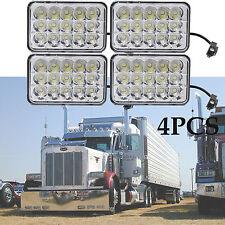 4x LED Headlights Sealed Hi/Lo Beam HID Bulbs For Kenworth Peterbilt 378 357 379