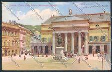 Genova Città Garibaldi cartolina E3006 SZL