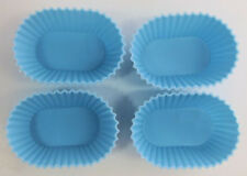 Oval Treat Set of 4 Silicone Molds for Fondant, Gum Paste, Chocolate, Crafts NEW