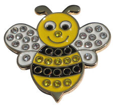 Crystal Bumble Bee Golf Ball Markers - Package of 2