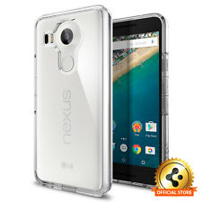 Spigen® Google LG Nexus 5X [Ultra Hybrid] Shockproof Case Clear TPU Slim Cover
