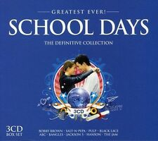 GREATEST EVER SCHOOL DAYS 3 CD NEU JACKSON 5/BOBBY BROWN/THE JAM/+