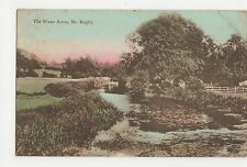 The River Avon, Nr. Rugby Postcard, A829