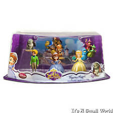 Disney Store Sofia the First Figure Play Set Amber James Cake Toppers NIP