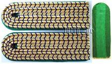 RDA Imperio alemán tren uniforme hombro trozos German Railroad shoulder boards o