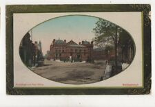 Exchange & Post Office Middlesbrough 1911 Postcard 182b