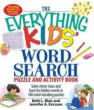 Everything® Kids: Kids' Word Search Puzzle : Solve Clever Clues and Hunt for...
