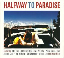 HALFWAY TO PARADISE - 2 CD BOX SET - BILLY FURY, THE SHIRELLES & MORE