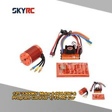 SKYRC 12T 3300KV Brushless Motor &60A Brushless ESC &Program card Combo Set R8T5