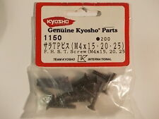 1150 FHST Screw 4mm (Flush Head Self Tapping) - Kyosho Hardware