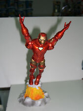 "MARVEL LEGENDS DIAMOND SELECT IRONMAN EXTREMIS 7"" FIGURE IN FLIGHT TOY BIZ"