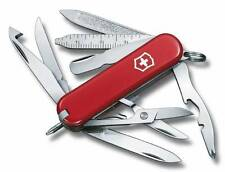 0.6385 VICTORINOX MINICHAMP SWISS ARMY POCKET KNIFE RED 06385 16 TOOLS 53973