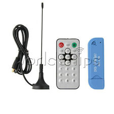 USB 2.0 Digital DVB-T SDR+DAB+FM HDTV TV Tuner Receiver Stick RTL2832U+ R820T2