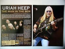 COUPURE DE PRESSE-CLIPPING :  URIAH HEEP [5pages] 12/2009 Mick Box