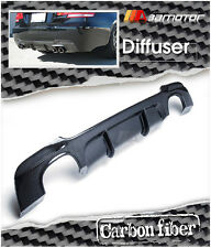 Carbon Fiber P Style Rear Diffuser for BMW E92 Coupe M Tech M Sport Bumper 4 Tip