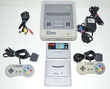 Super Nintendo SNES + 2 ORIGINAL Controller + GB PLAYER + SUPER MARIO WORLD