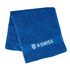 K-SWISS TENNIS  TOWEL BLUE , ALSO FOR GYM, SQUASH BADMINTON , PADEL  TRAVEL