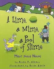 A Lime, a Mime, a Pool of Slime : More about Nouns by Brian Cleary (2006,...