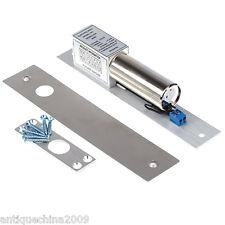 Electric Drop Bolt Door Lock DC 12V Magnetic Induction Auto Deadbolt Durable