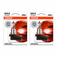 H11 Osram Original Fog Light Bulbs Front Spot Lamps Genuine
