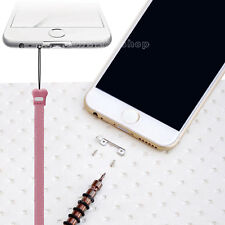 iPhone 6 6s Plus DIY Pendant Connect Metal Hook Neck Hand Strap Holder + Tools